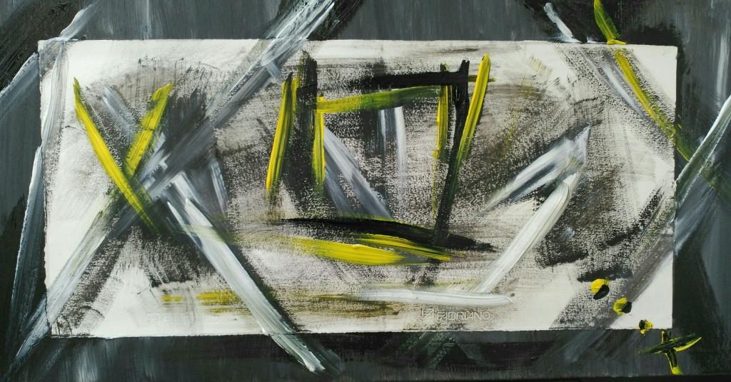 """""""Más Nunca"""" / collage/ papel y óleo sobre lienzo / 170x60 cm / 2016"""