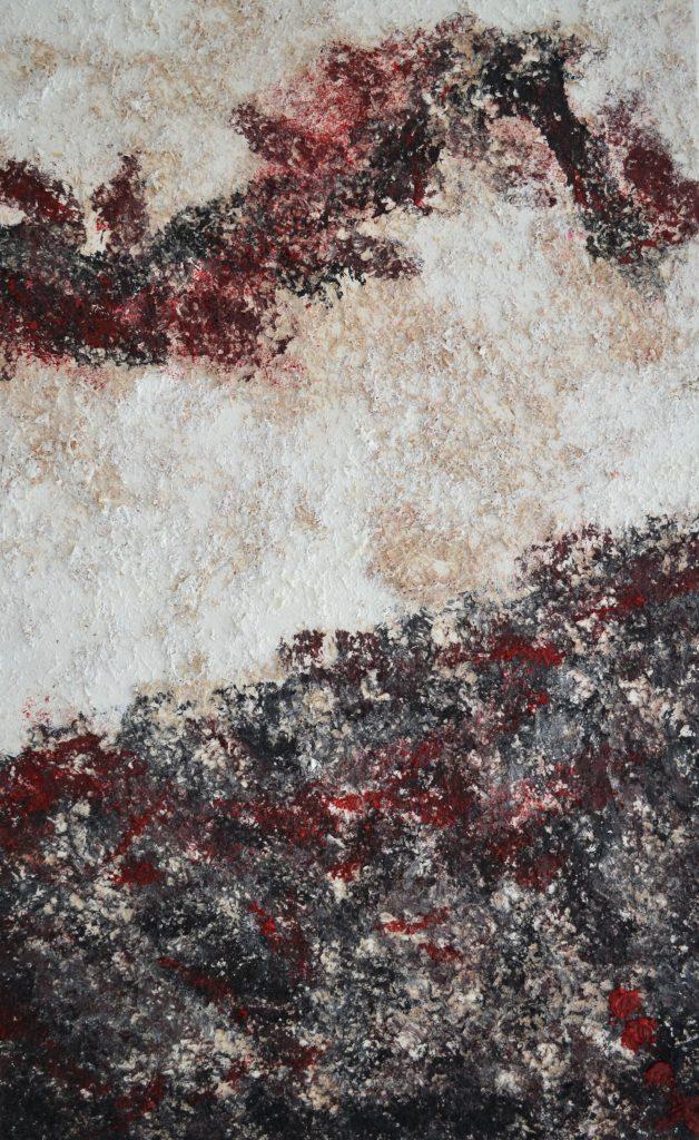 Miñe/ óleo y madera sobre lienzo/ 60 x 80/ Charo Artadi/ México 2016