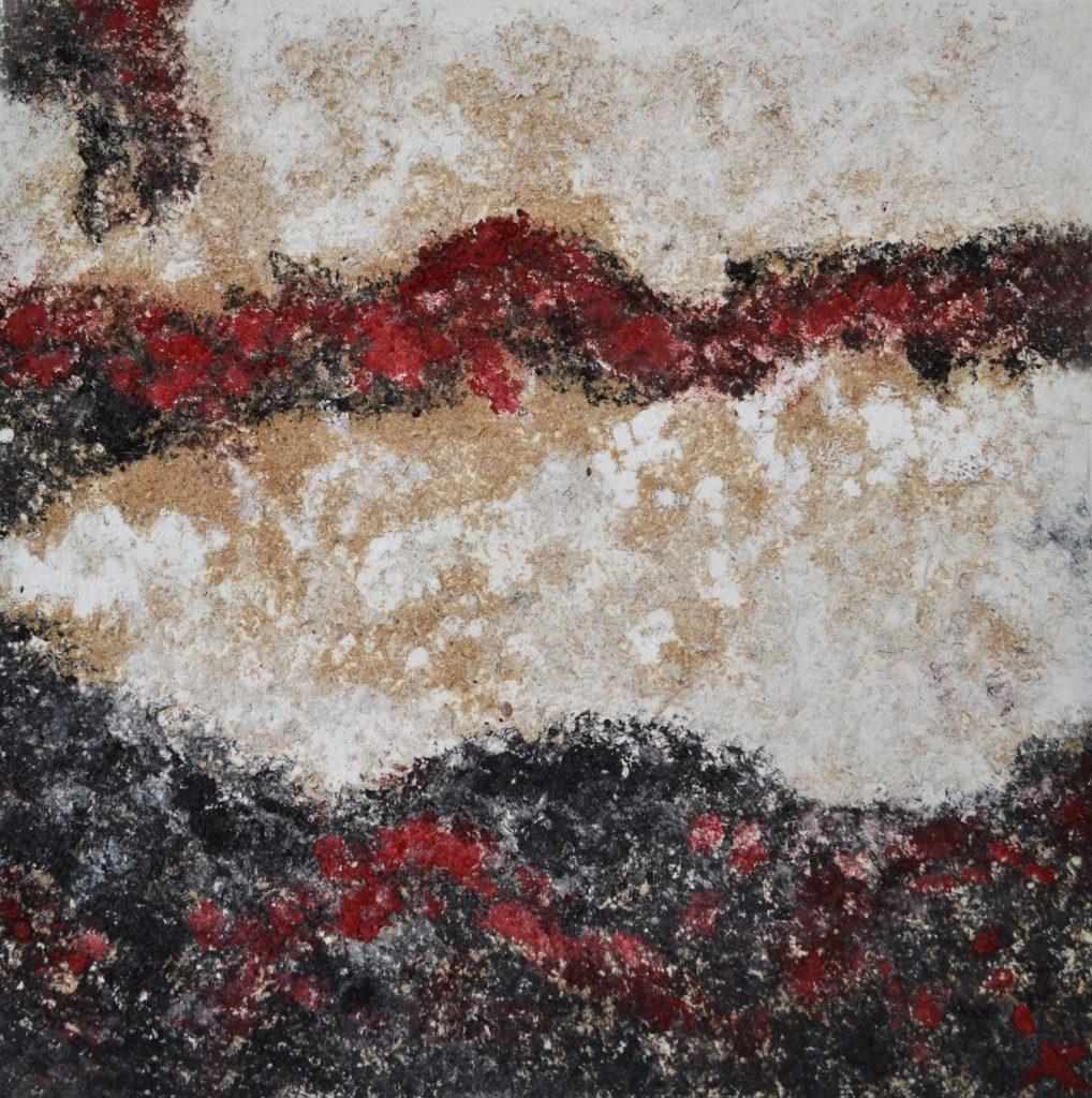Andrea/ óleo y madera sobre lienzo/ 80 x 80/ Charo Artadi/ México 2016