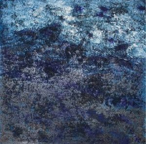 Óleo y café sobre lienzo/ 100 x 100 cm/ Charo Artadi/ Perú 2018