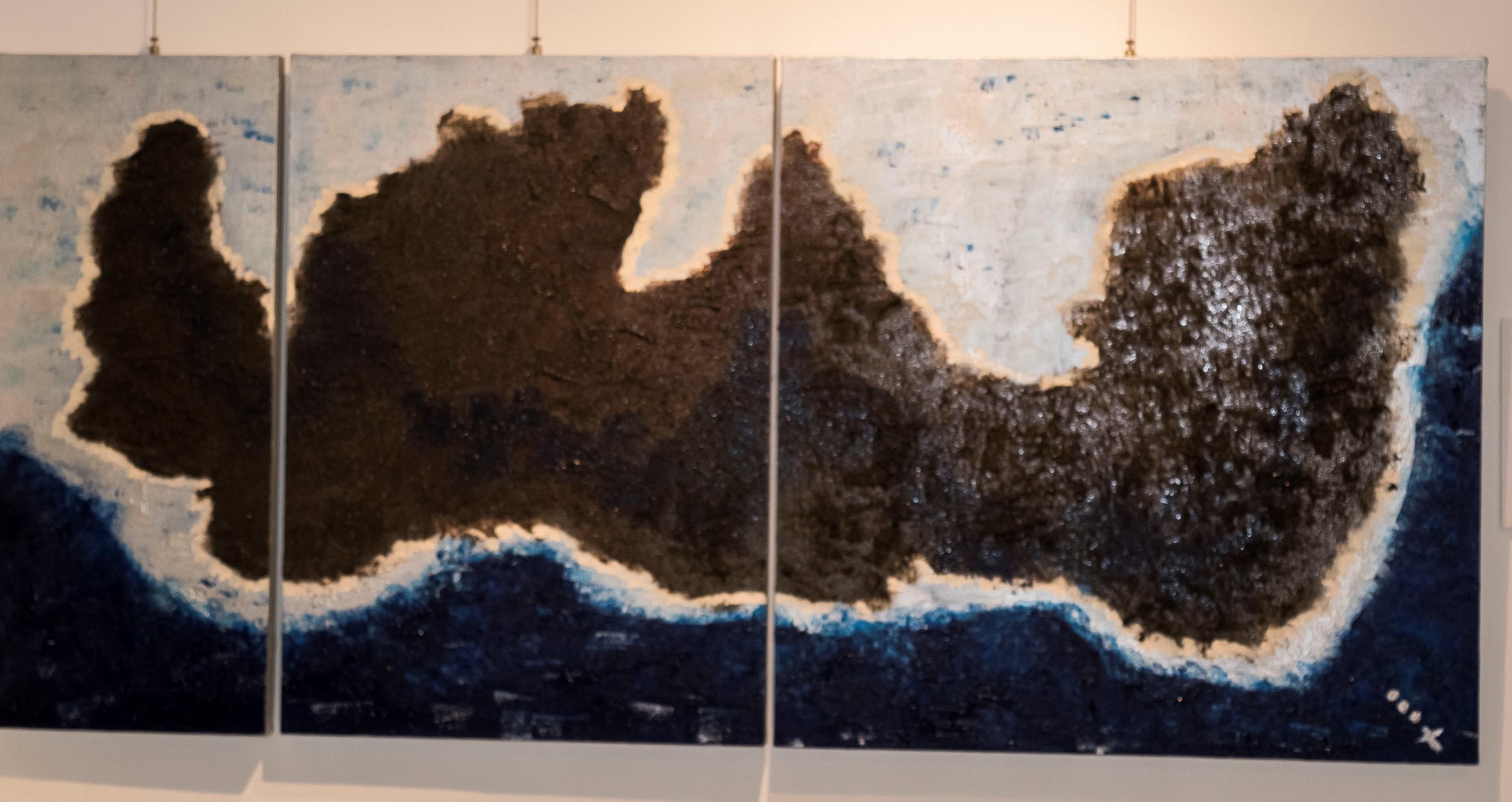 Tríptico/ 70 x 150 cm/ Charo Artadi/ Perú 2018