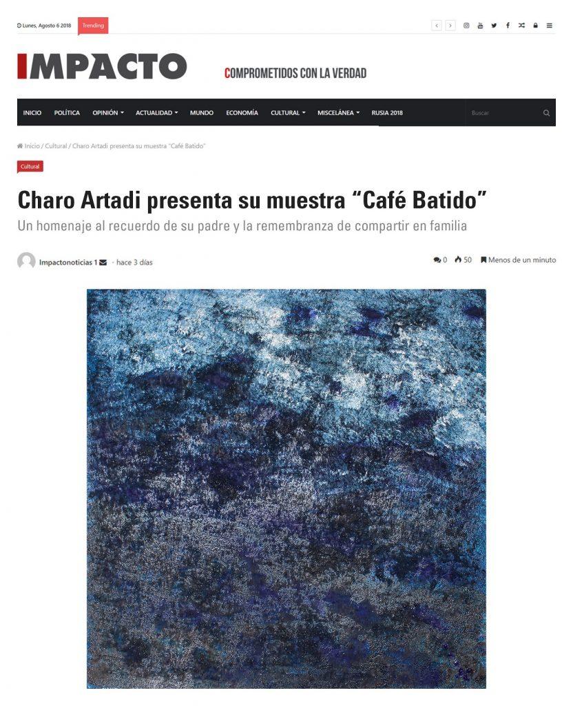 """Publicación diario """"Impacto"""" de Perú"""